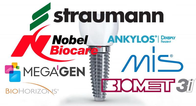 Implanto gamintojo pasirinkimas